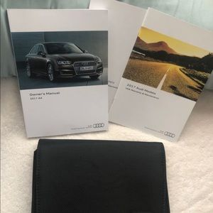 Audi A4 2017 owners manual